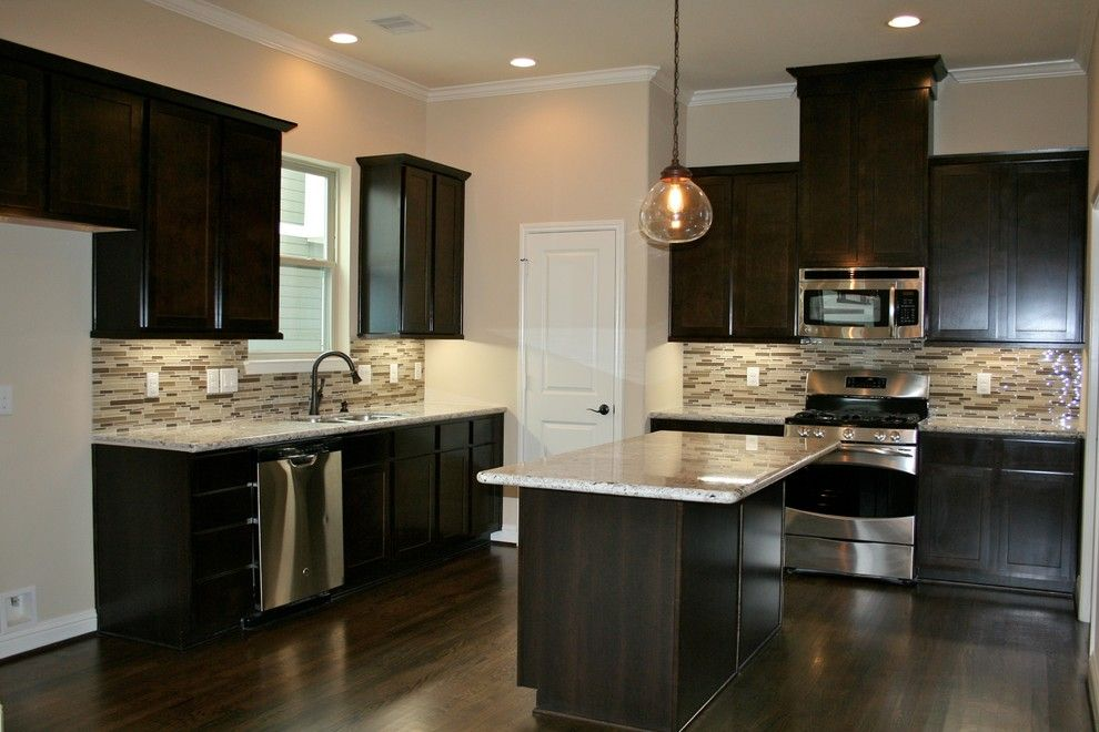 David Weekley Homes Houston for a Traditional Kitchen with a Stainless Appliances and 921 West 24th St by Gina Hadfield with Champions Real Estate Group