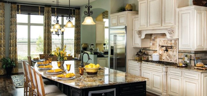 David Weekley Homes Houston for a Traditional Kitchen with a Traditional and the Burleigh by David Weekley Homes