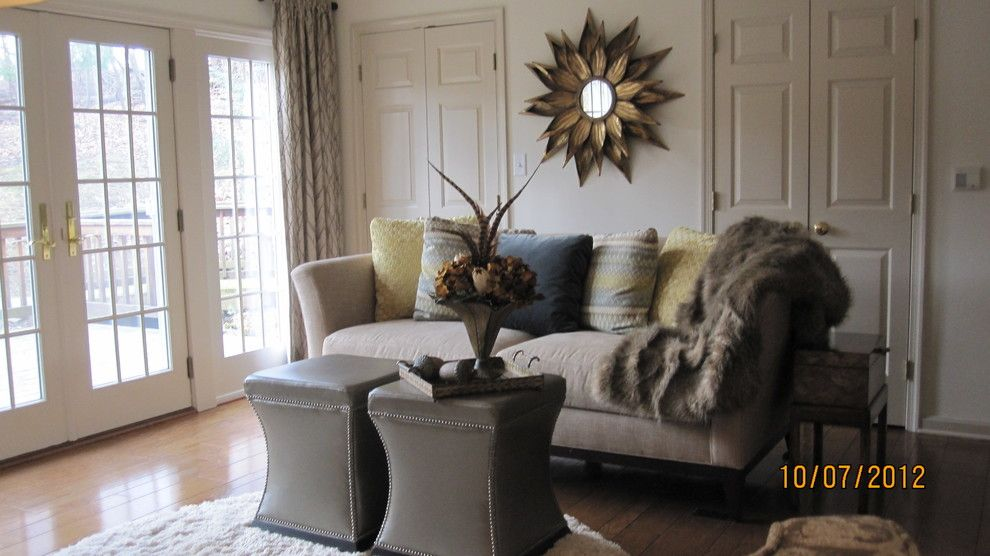 Davids Furniture for a Contemporary Family Room with a Sunburst and Favorites by Laurie Foster at Davids Furniture & Interiors