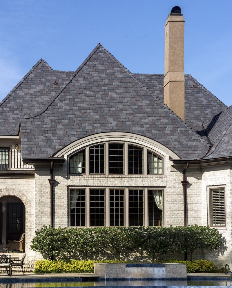 Davinci Roofscapes for a Traditional Exterior with a Shingle Roof and Davinci Roofscapes by Davinci Roofscapes