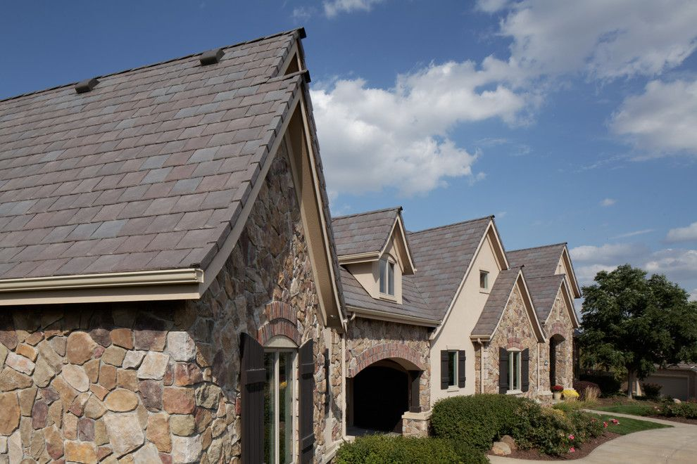 Davinci Roofscapes for a Traditional Exterior with a Traditional and Davinci Roofscapes by Davinci Roofscapes