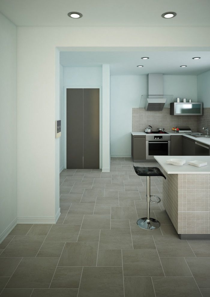 D&b Tile for a Contemporary Kitchen with a Contemporary and Florida Tile by Florida Tile, Inc.