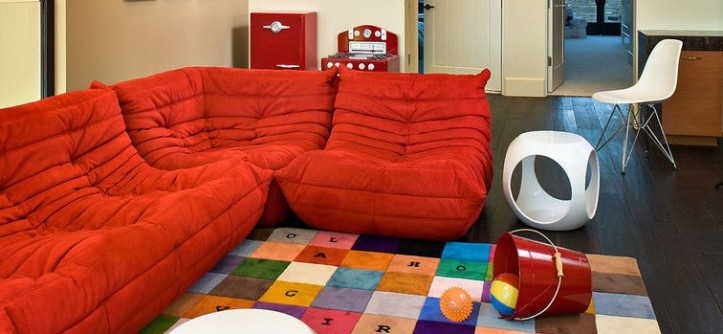 Dcg Stores for a Contemporary Kids with a Jean Charles De Castelbajac and Kids Playroom by KuDa Photography