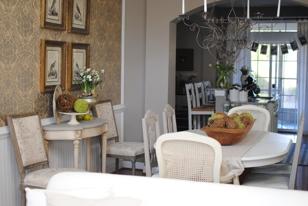 Dear Lillie for a Traditional Dining Room with a Traditional and Dining Room by Dear Lillie