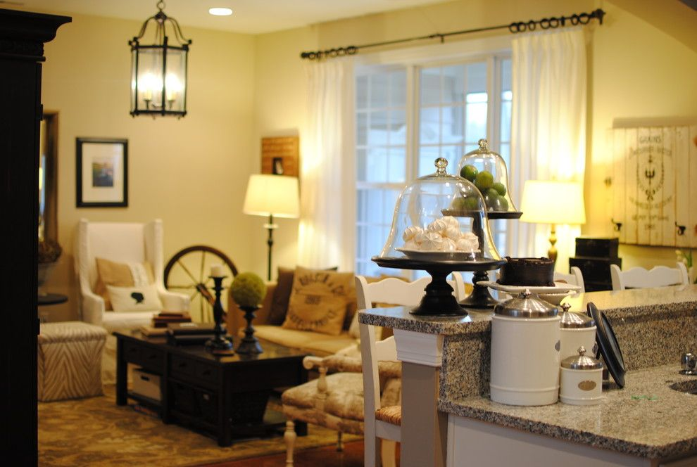 Dear Lillie for a Traditional Family Room with a Traditional and Family Room by Dear Lillie