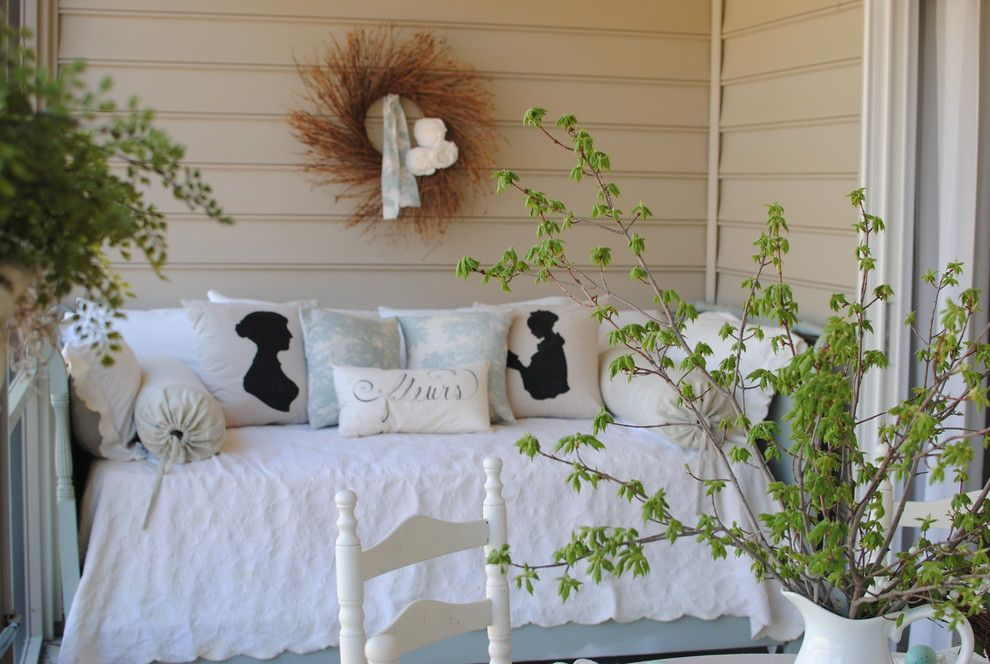 Dear Lillie for a Traditional Porch with a Traditional and Back Porch by Dear Lillie