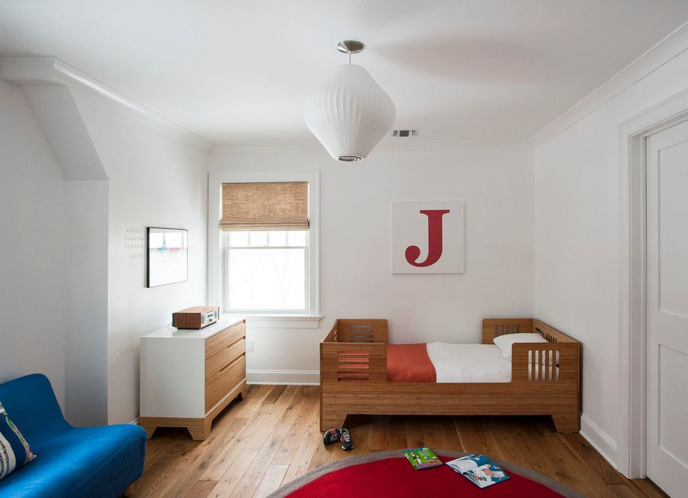 Declutter for a Transitional Kids with a Boys Room and Transitional Westchester Cottage by Indi Interiors