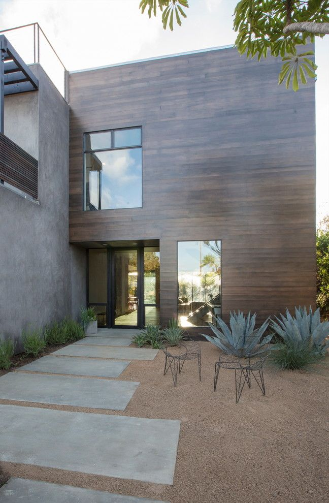Decomposed Granite for a Contemporary Patio with a Decomposed Granite and Mar Vista Modern by Shelby Wood Design