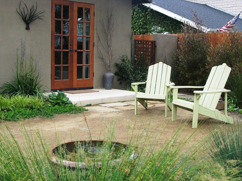 Decomposed Granite Patio for a Mediterranean Landscape with a Mediterranean and Debora Carl Landscape Design by Debora Carl Landscape Design