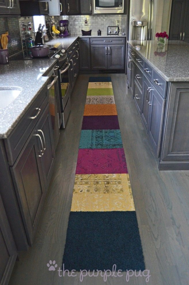 Decora Cabinets for a Eclectic Kitchen with a Cambria and Kitchen Remodel~Mccarthy by Kristymc