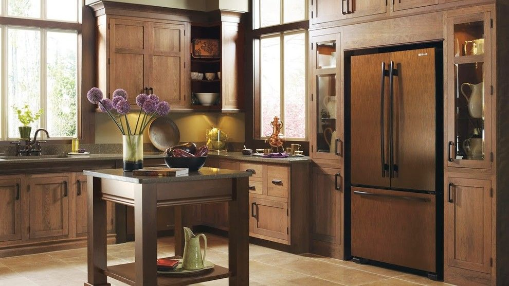 Decora Cabinets for a Traditional Kitchen with a Traditional and Decora Cabinets by Prestige Designer Kitchens and Baths