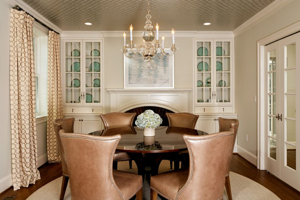 Decorium Furniture for a Traditional Dining Room with a Traditional and Green with Envy: Leed Certified Whole House Renovation by Harry Braswell Inc.