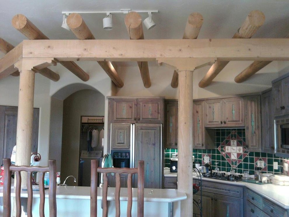 Decra for a  Kitchen with a Paint and Our Work by Decra Tech Painting