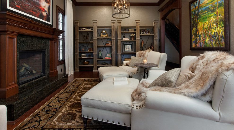 Delaney Hardware for a Rustic Spaces with a Rustic and Delaney Ave by Morrone Interiors