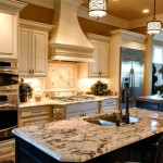 Delicatus Granite for a Traditional Kitchen with a White Cabinets and Durrett Kitchen Splash 1 by Robin Straub