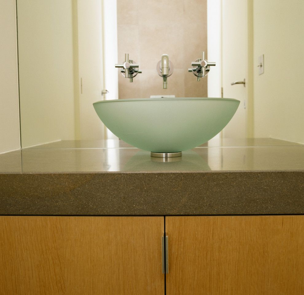 Desert Liquidators for a Contemporary Bathroom with a Bathroom and Our Projects by Desert Liquidators