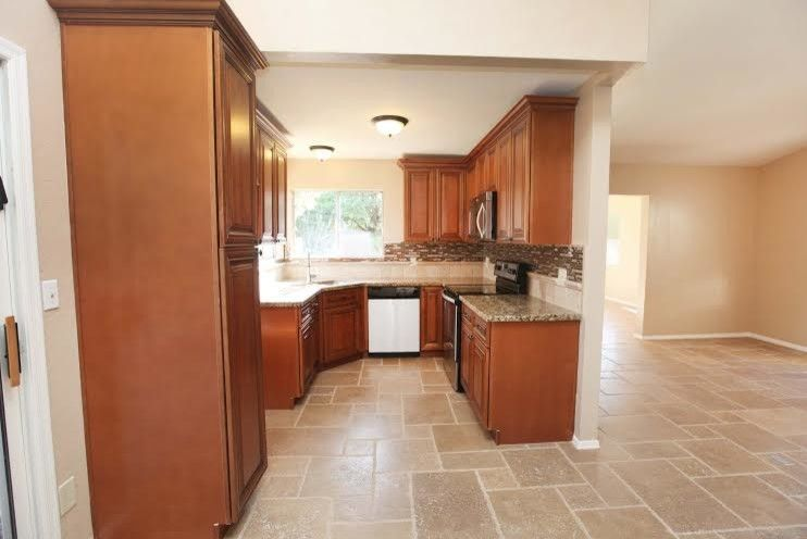 Desert Liquidators for a Traditional Kitchen with a Medallion and Complete Remodels by Desert Liquidators