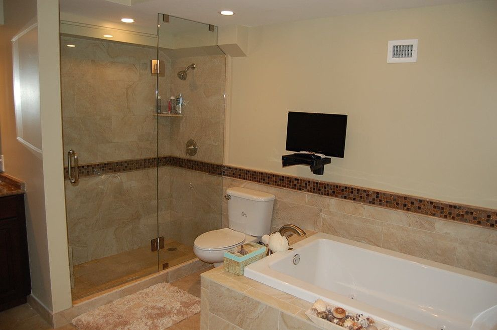 Desert Liquidators for a Transitional Bathroom with a Neutral Bathroom and Bathrooms by Desert Liquidators