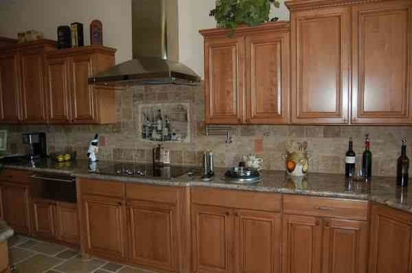 Desert Liquidators for a Transitional Kitchen with a Kitchen Backsplash and Kitchens by Desert Liquidators