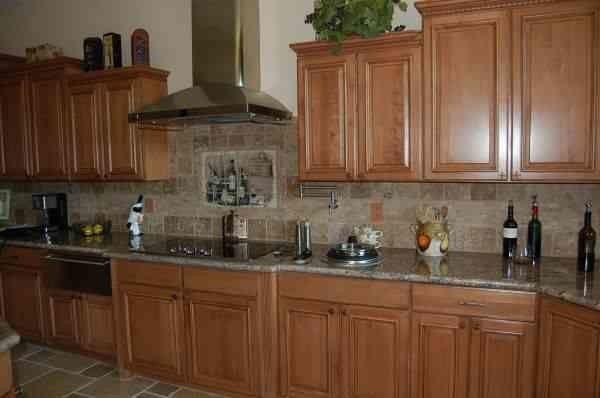 Desert Liquidators for a Transitional Kitchen with a Kitchen Backsplash and Kitchens by Desert Liquidators