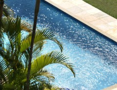 Diamond Brite for a Tropical Pool with a Diamond Brite and SGM Swimming Pool Finishes - Diamond Brite Photos by SGM Inc