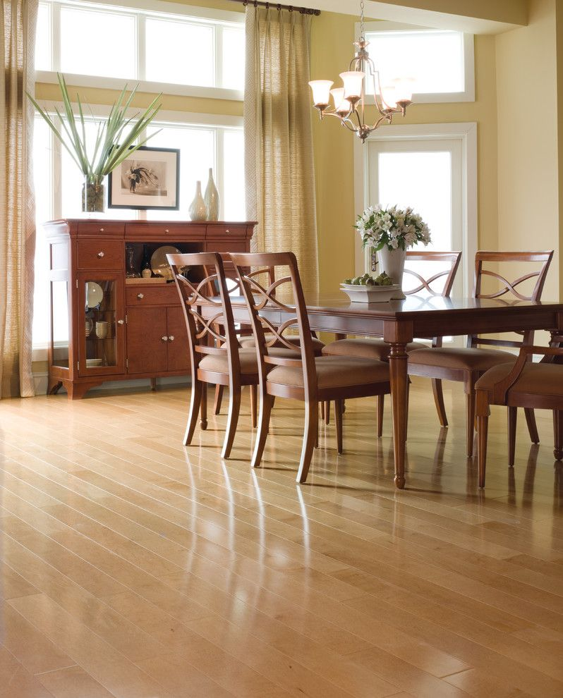 Dixie Carpet for a Traditional Dining Room with a Hardwood and Dining Room by Carpet One Floor & Home