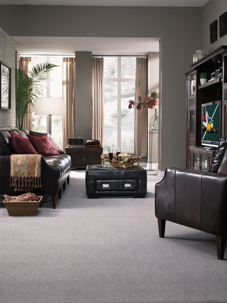 Dixie Carpet for a Traditional Living Room with a Carpet and Living Room by the Dixie Group: Carpet & Rugs