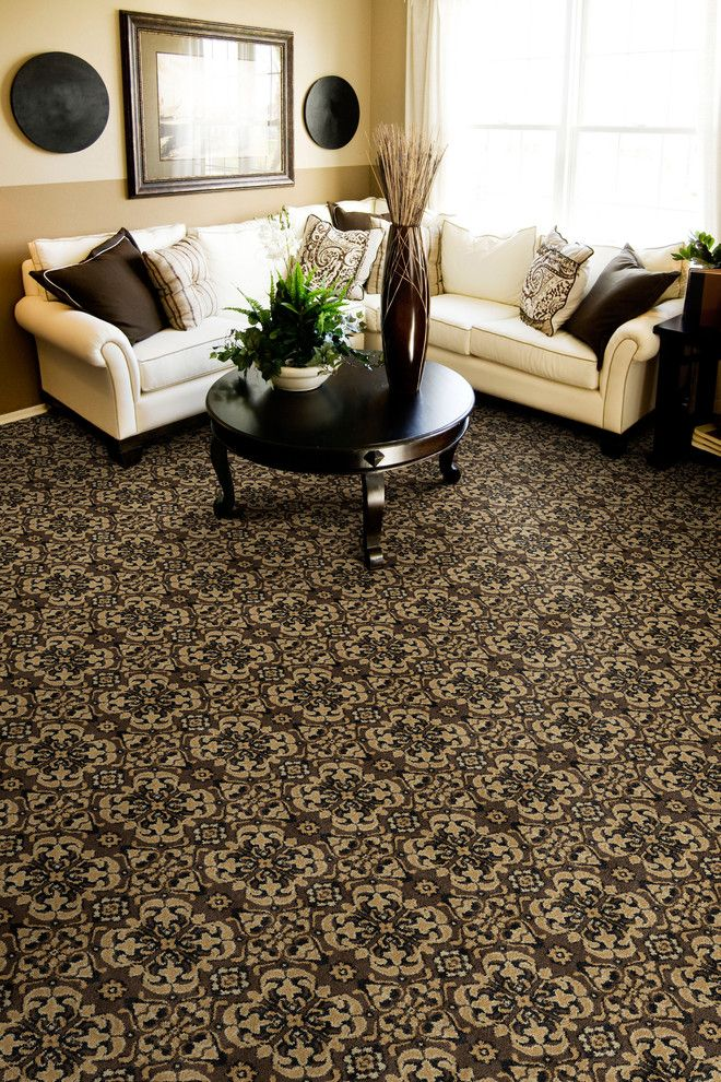 Dixie Carpet for a Traditional Living Room with a Living and Living Room by the Dixie Group: Carpet & Rugs