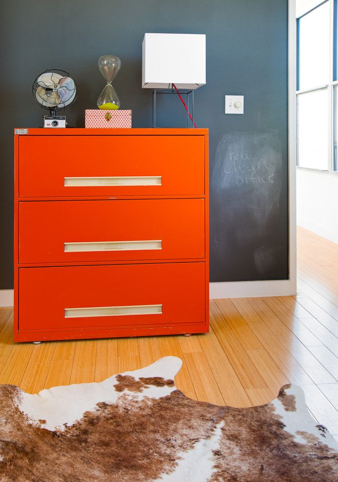 Diy Chalkboard Paint for a Eclectic Home Office with a Chalk Paint Wall and Ava Lane by Kailey J. Flynn Photography