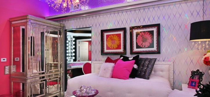 Diy Daybed for a Contemporary Bedroom with a Girls Space and Glam Dance Studio by Frank Pitman Designs