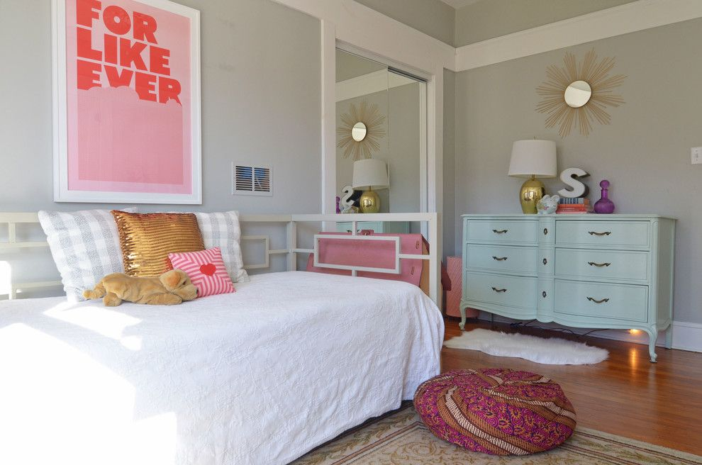 Diy Daybed for a Eclectic Bedroom with a Fort Worth and Fort Worth, Tx: Misty Spencer by Sarah Greenman