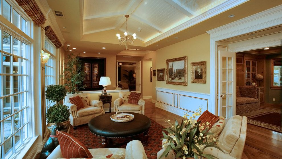 Dolan Lumber for a Traditional Living Room with a Living Room Furniture and Orinda Hilltop Home by Dolan's Lumber, Doors & Windows
