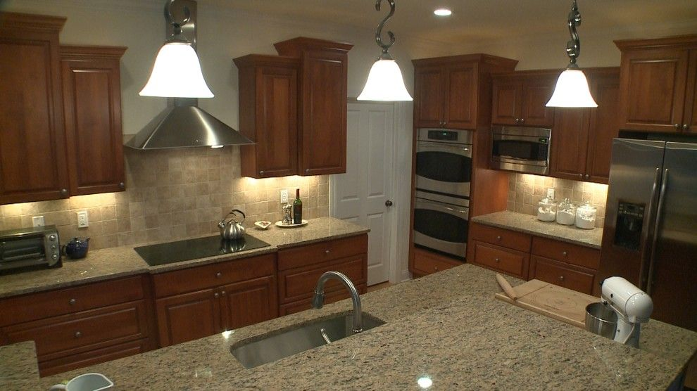 Dominion Electric Supply for a Traditional Kitchen with a Legacy Cabinets and Jacques L by Curtis Lumber Ballston Spa