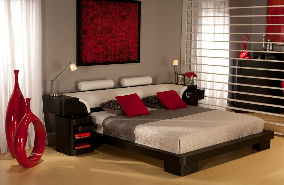 Dorado Furniture for a Asian Bedroom with a Asian Fusion and the Legacy Bedroom Set by El Dorado Furniture