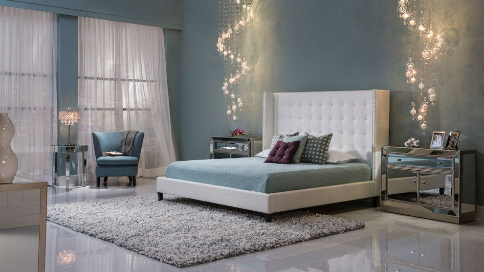Dorado Furniture for a Modern Bedroom with a Great Bed and the Duval Bedroom by El Dorado Furniture