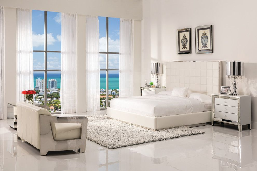 Dorado Furniture for a Modern Bedroom with a Panel Beds and Pembroke Square Bedroom by El Dorado Furniture
