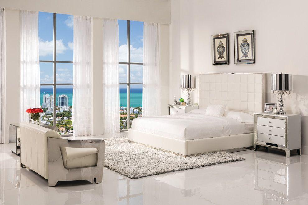 Dorado Furniture for a Modern Bedroom with a Panel Beds and Pembroke Square Bedroom by El Dorado Furniture