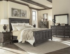 Dorado Furniture for a Traditional Bedroom with a Bedroom Furniture and Calistoga Panel Bed by El Dorado Furniture