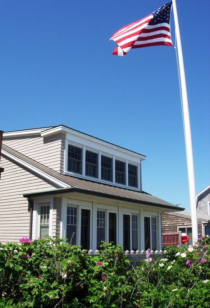Dormer Windows for a Traditional Exterior with a Cape Cod and Project Photos by David Whitney