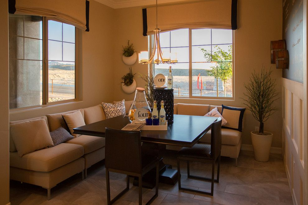 Dorn Homes for a Traditional Dining Room with a Dining Room and Mickelson at Laughlin Ranch by Dorn Homes