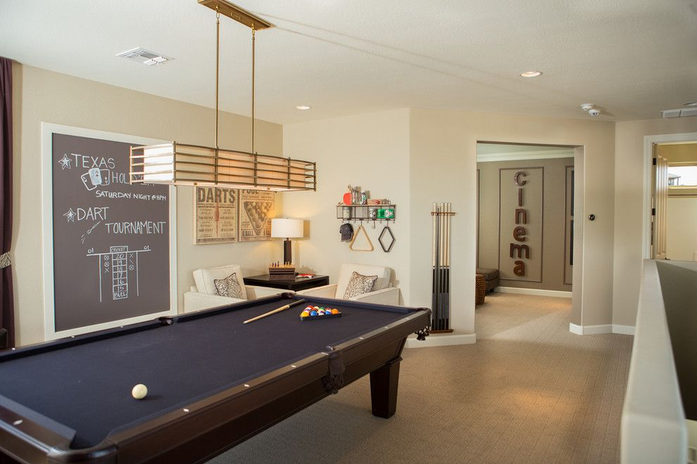 Dorn Homes for a Transitional Family Room with a New Homes and Cypress Point at the Retreat by Dorn Homes