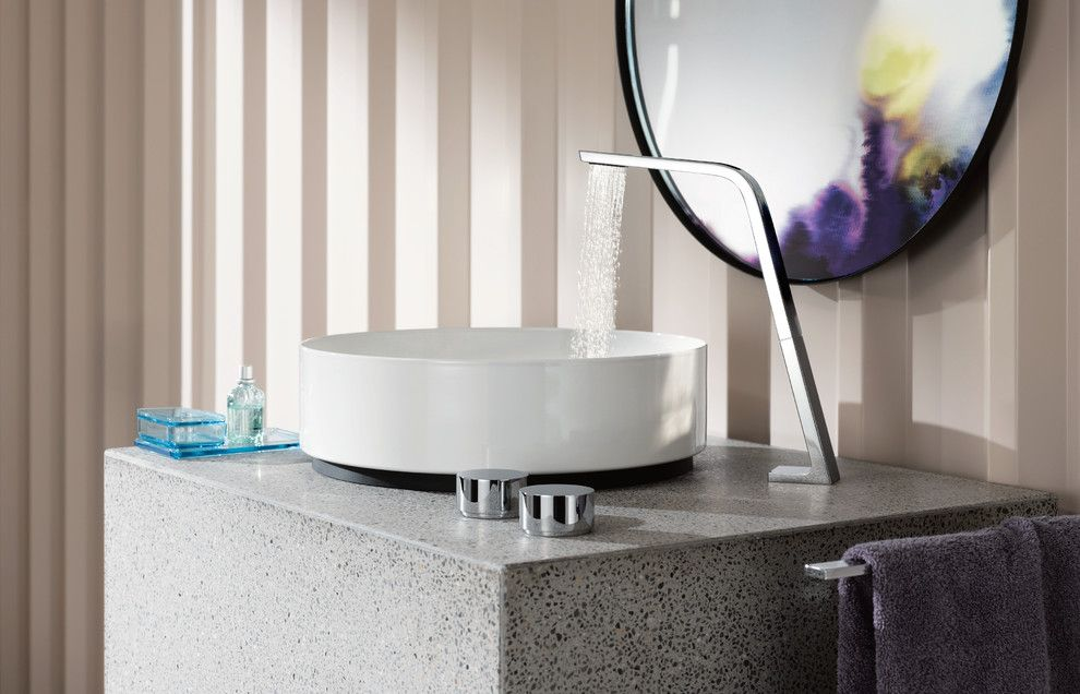 Dornbracht for a Modern Bathroom with a Modern Bathroom Faucet and Dornbracht Cl.1 Lavatory Faucet by Dornbracht