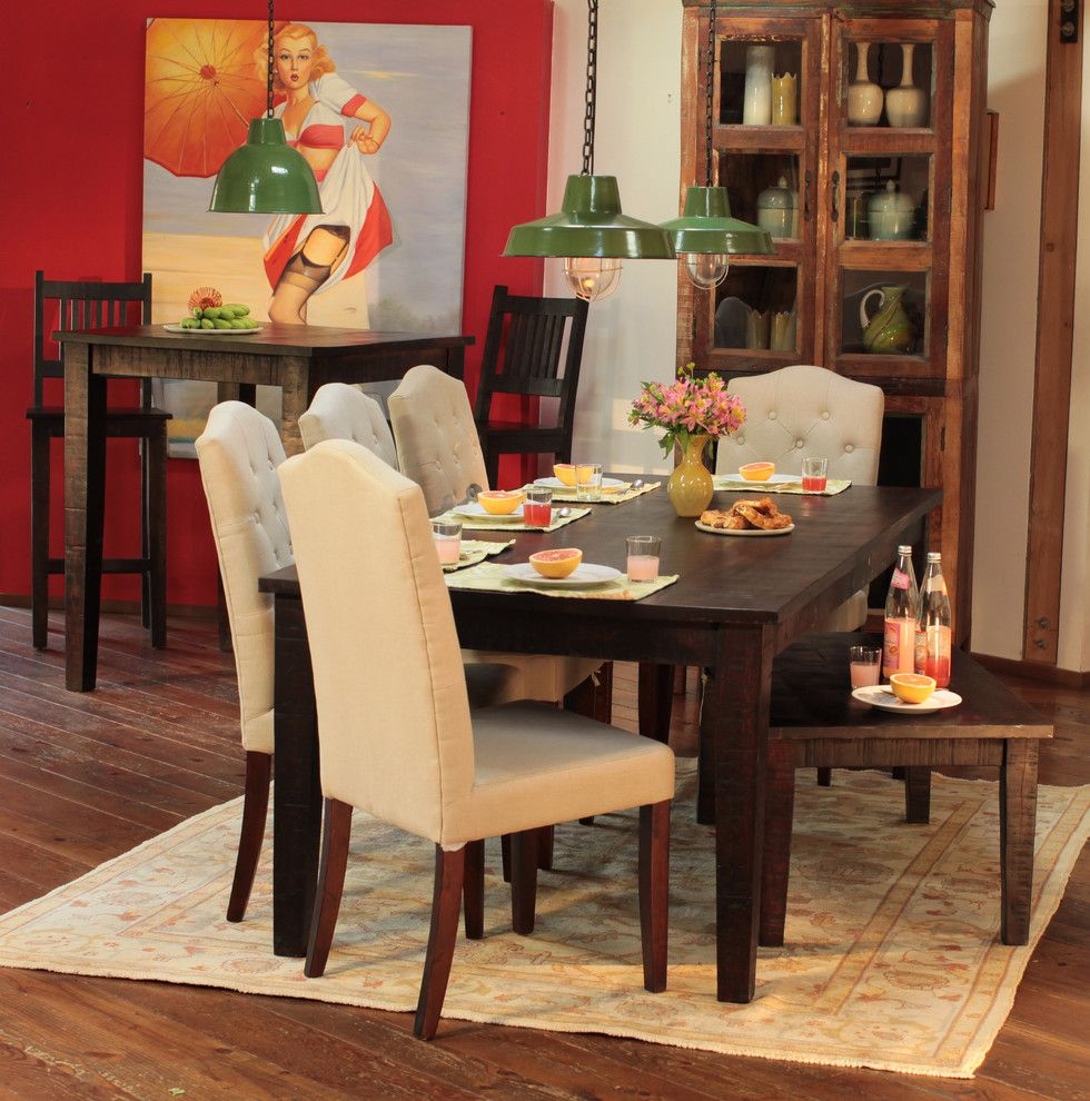 Dovetail Furniture for a Traditional Dining Room with a Traditional and Dovetail Furniture by Classic Home & Antique
