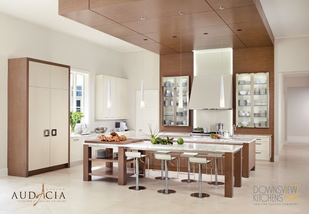 Downsview Kitchens for a Modern Kitchen with a Square Table Legs and Downsview Kitchens   Audacia Design Exclusive Montreal Dealer by Audacia Design Downsview Kitchens