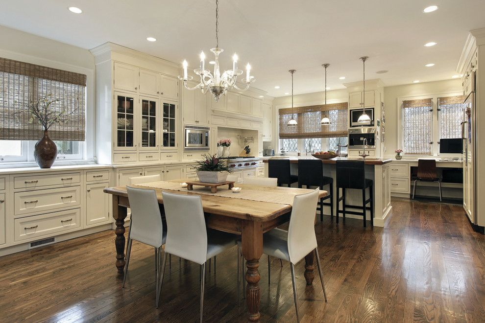 Downsview Kitchens for a Traditional Kitchen with a Great Room and Ville St Laurent by Audacia Design Downsview Kitchens