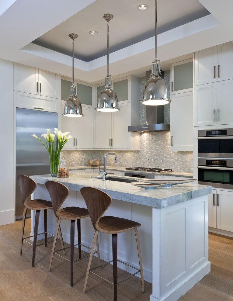 Downsview Kitchens for a Transitional Kitchen with a Landscaping and Gables on 6th by Naples Redevelopment, Inc.