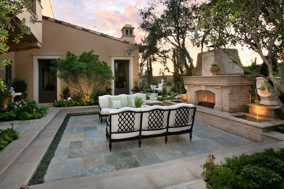 Dox Furniture for a Mediterranean Patio with a Paver and Urban Landscape Design & Construction by Urban Landscape