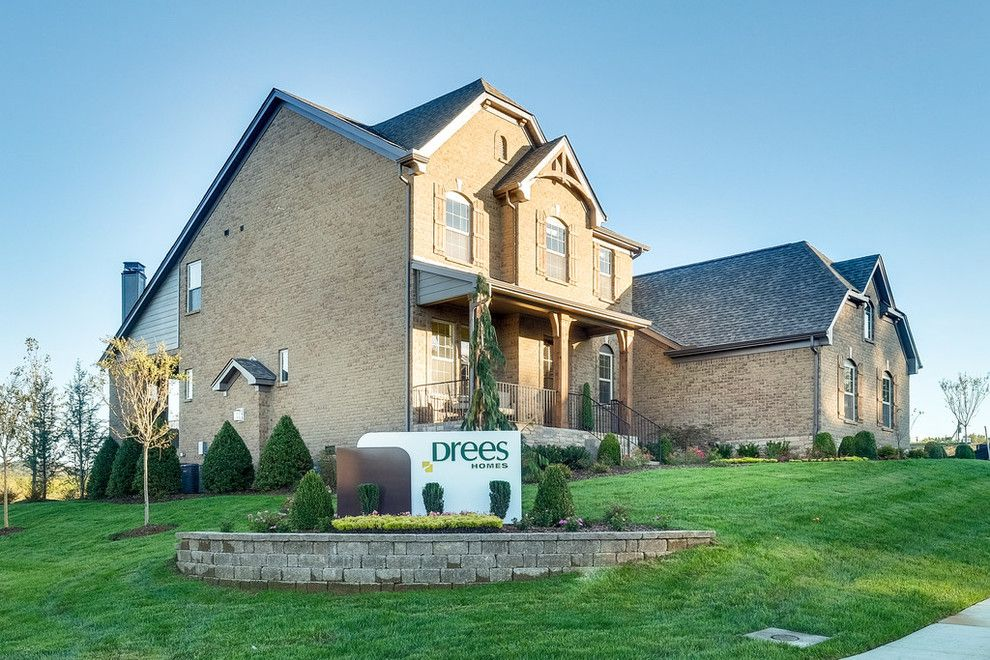 Drees Homes for a  Spaces with a  and Summerlyn 17 Model Home by Drees Homes Nashville Tn