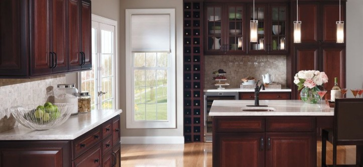 Drexel Building Supply for a Traditional Kitchen with a French Door and Kitchen Cabinets by Capitol District Supply