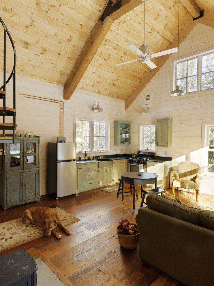 Drywall Alternatives for a Rustic Family Room with a Rustic and Winter Cabin by Susan Teare, Professional Photographer